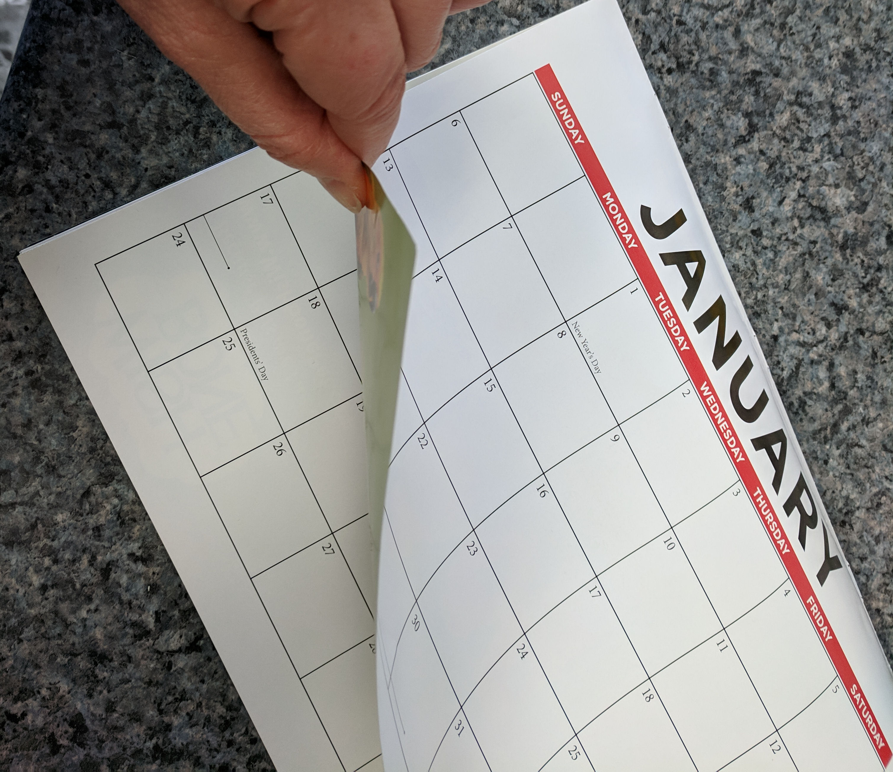 Turning the calendar page on your New Year's Resolution? It's not too late to make progress.